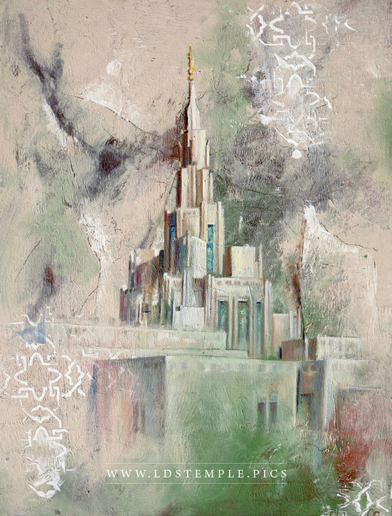 Phoenix Temple Painting Print