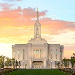 pocatello-temple-golden-sunrise