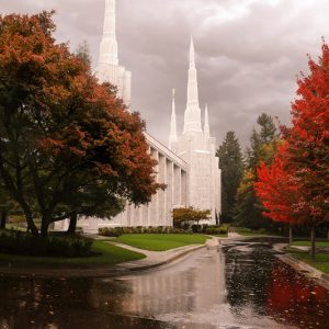 portland-temple-autumn-reflections