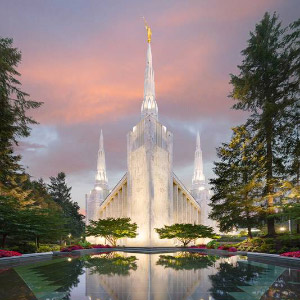 portland-temple-sunset-reflection