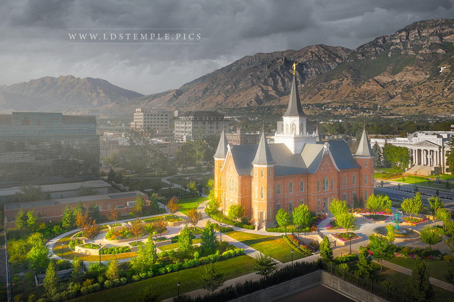 Provo City Center Temple A Place of Refuge Print