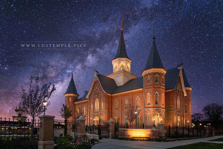 Provo City Center Temple Celestial Print