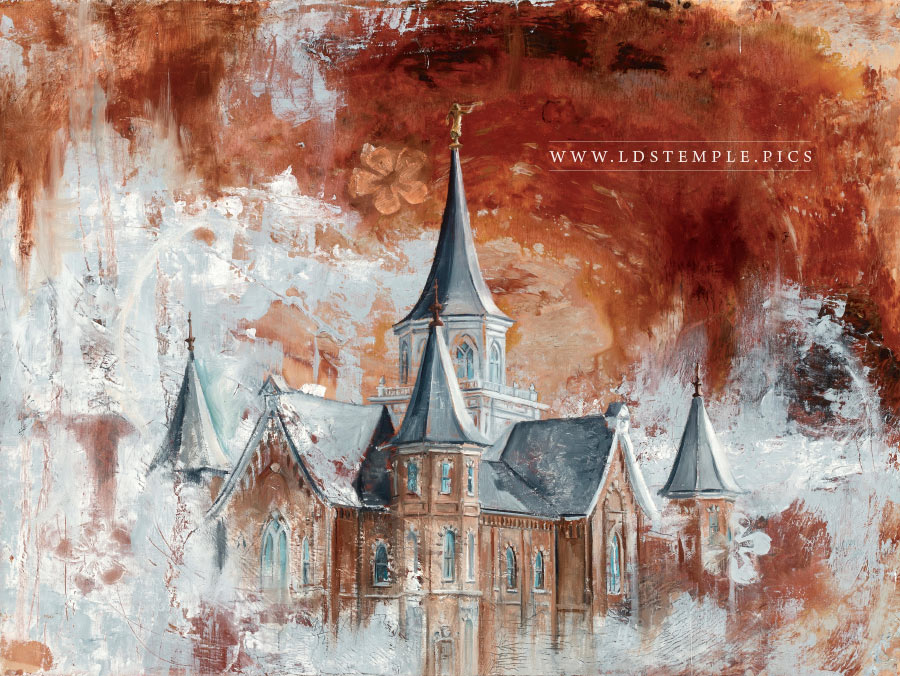 Provo City Center Temple Painting Print