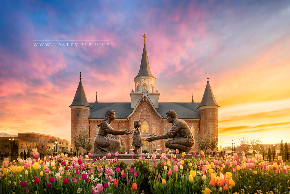 #6: Provo City Center Temple – Families Are Forever