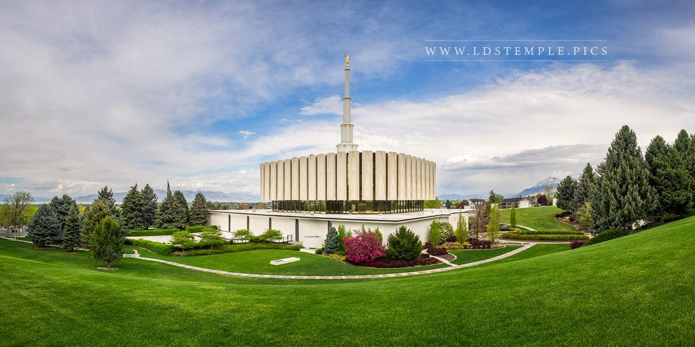 Provo Temple A Place Of Peace Print