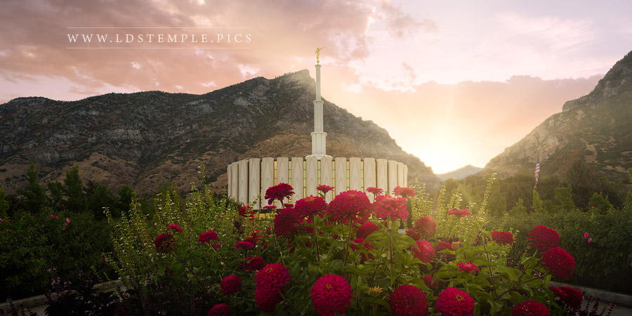 Provo Temple Second Coming Print