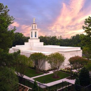 raleigh-temple-aerial-sunset