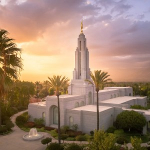 redlands-temple-aerial-sunset