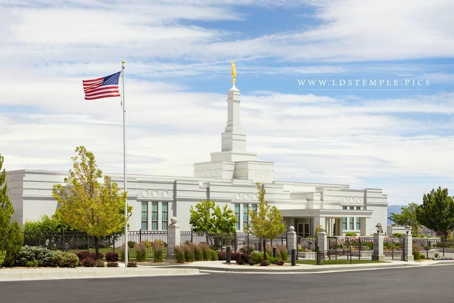 Reno Temple Daytime Print
