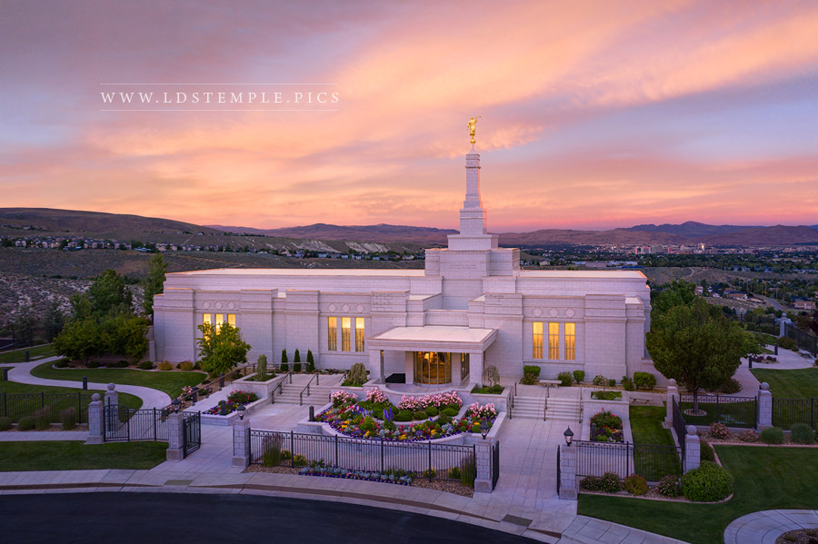 Reno Temple Glory to the Highest Print