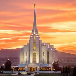 rexburg-temple-autumn-sunset