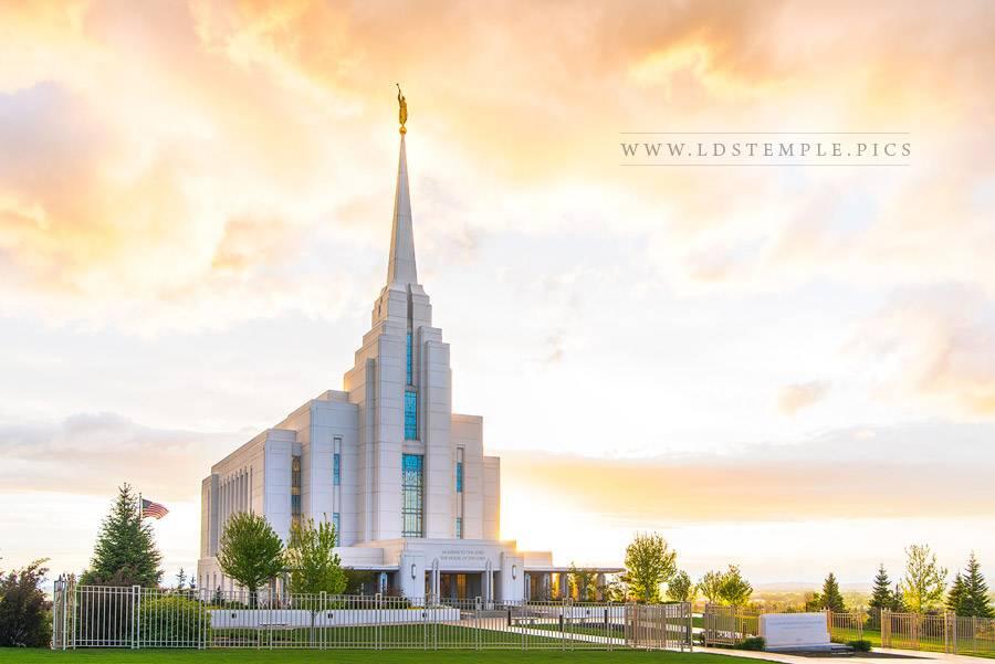 Rexburg Temple – Everlasting Light