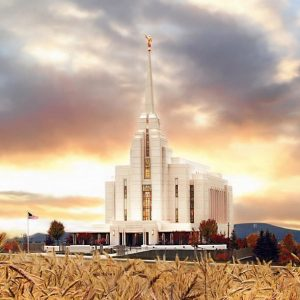 rexburg-temple-fall-sunset-painting