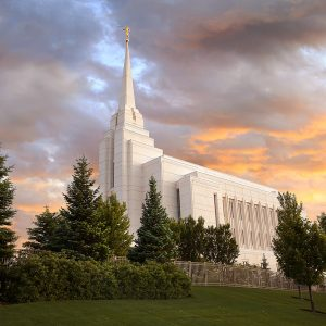 rexburg-temple-glorious-sunset