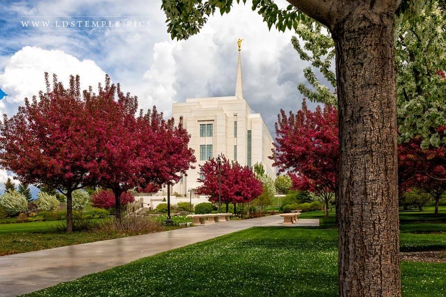 Rexburg Temple – Spring Storm