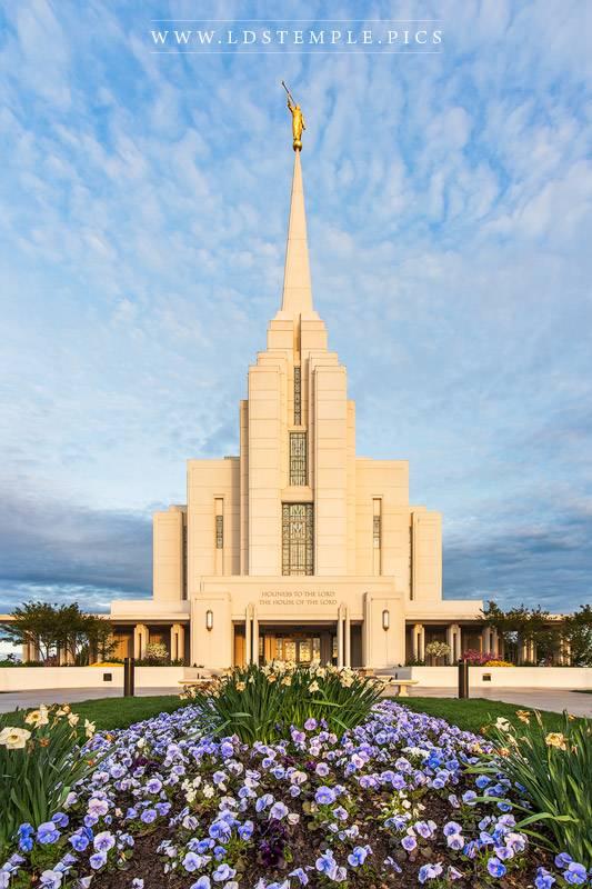 Rexburg Temple – Summer Morning