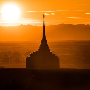rexburg-temple-sunset-silhouette