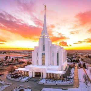 rexburg-temple-winter-sunset-aerial