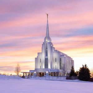 rexburg-temple-winter-sunset-glow