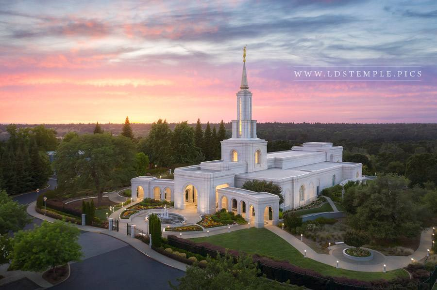 Sacramento Temple – Heavenly Light