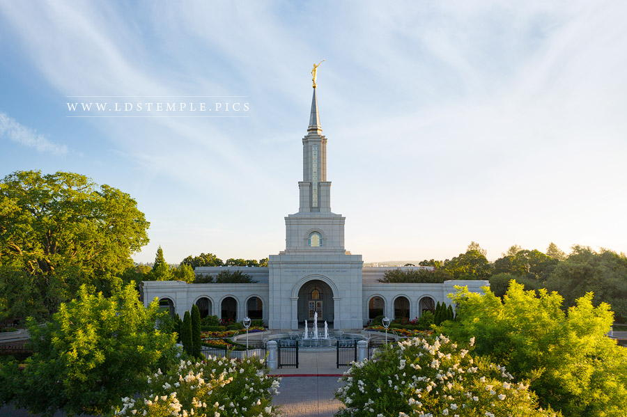 Sacramento Temple – Morning Sun