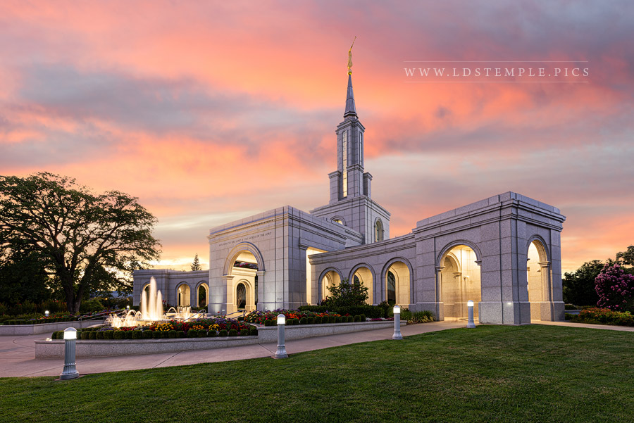 Sacramento Temple – Summer Peace