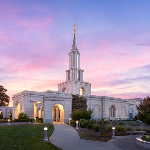 sacramento-temple-summer-sunset