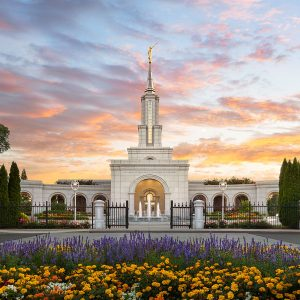 sacramento-temple-sunrise-glow