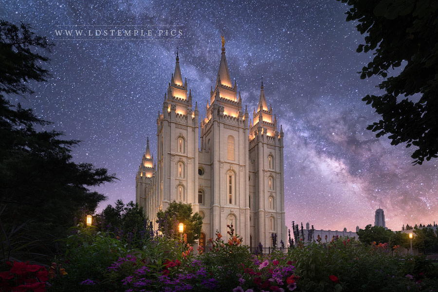 Salt Lake Temple Celestial Print