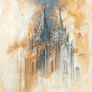 salt-lake-temple-cold-wax-oil-painting