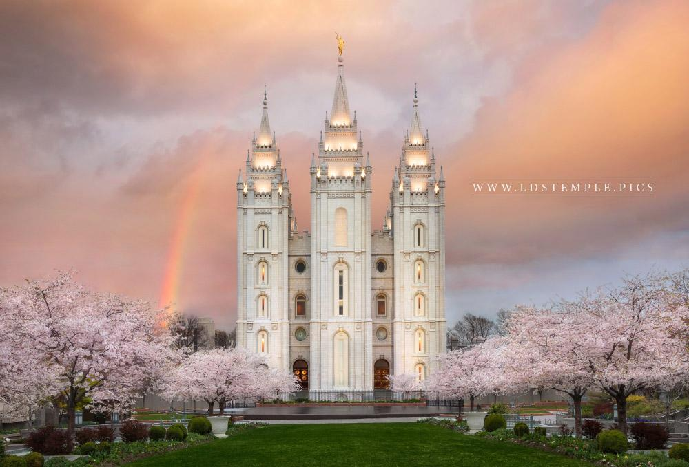 Salt Lake Temple – Eternal Beauty Print