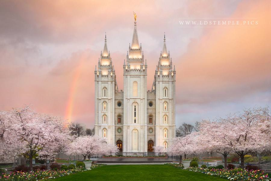 Salt Lake Temple Eternal Beauty Print
