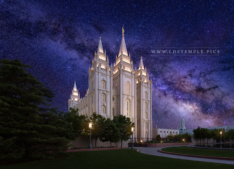 Salt Lake Temple Eternal Creations Print