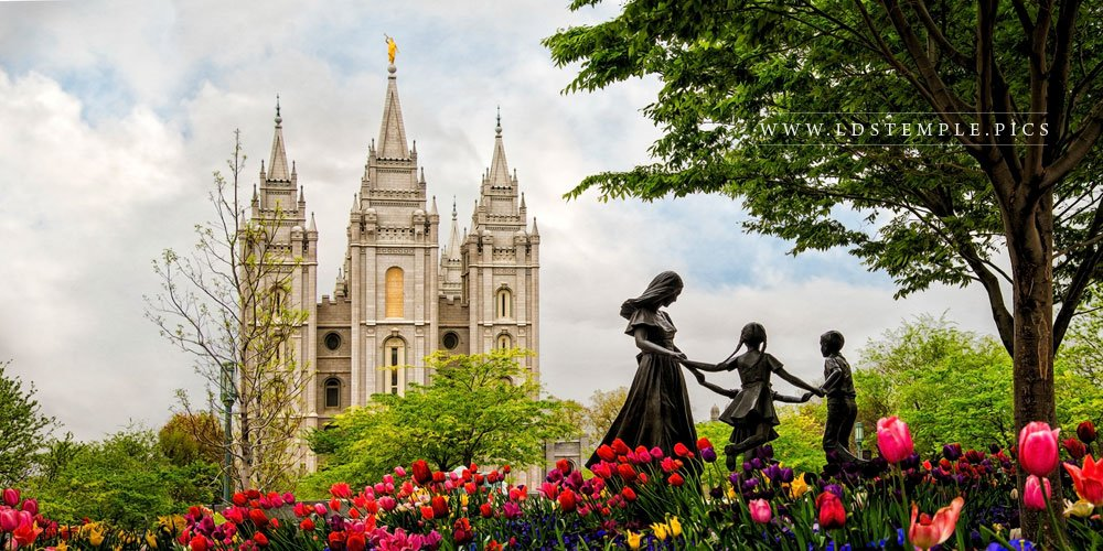 Salt Lake Temple Eternal Print