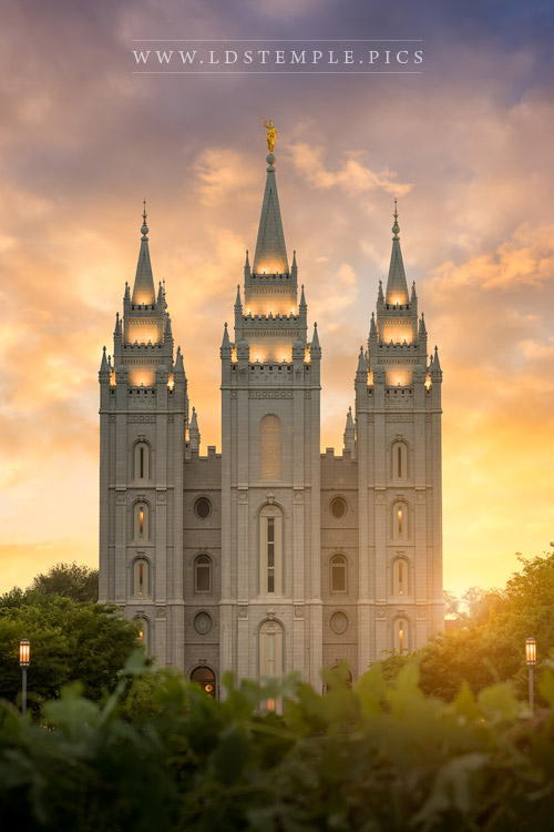 10 Summer Pictures Of The Salt Lake Temple You Haven T