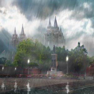 salt-lake-temple-in-the-rain-painting