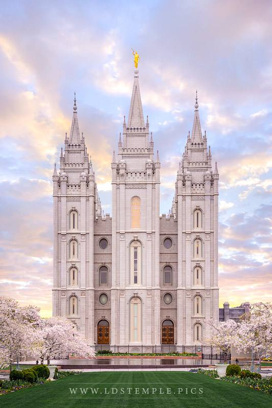 Salt Lake Temple New Life Print