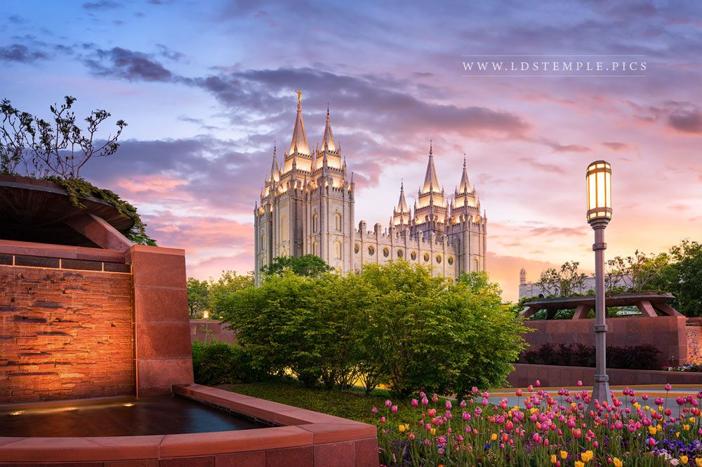Salt Lake Temple This Is The Place Print