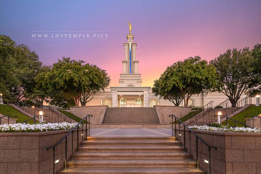 San Antonio Temple Holy Place Print
