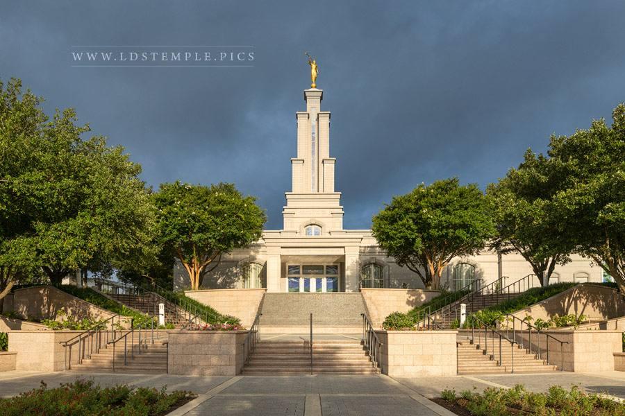 San Antonio Temple – Stormy Light