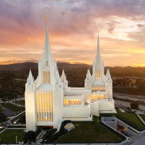 san-diego-temple-aerial-sunset-southwest