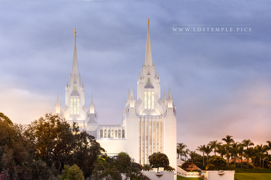 San Diego Temple All Will Rise Print
