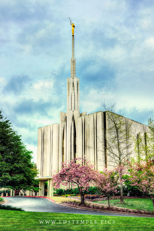 Seattle Temple Echoes Of Glory Print
