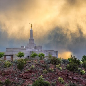 snowflake-lds-temple-stormy-sunset