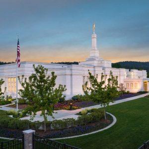 spokane-temple-evening
