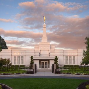 spokane-temple-summer-sunset