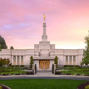 spokane-temple-sunrise-glow