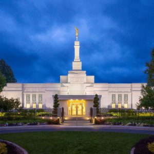 spokane-temple-twilight