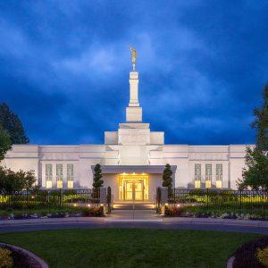 spokane-temple-twilight