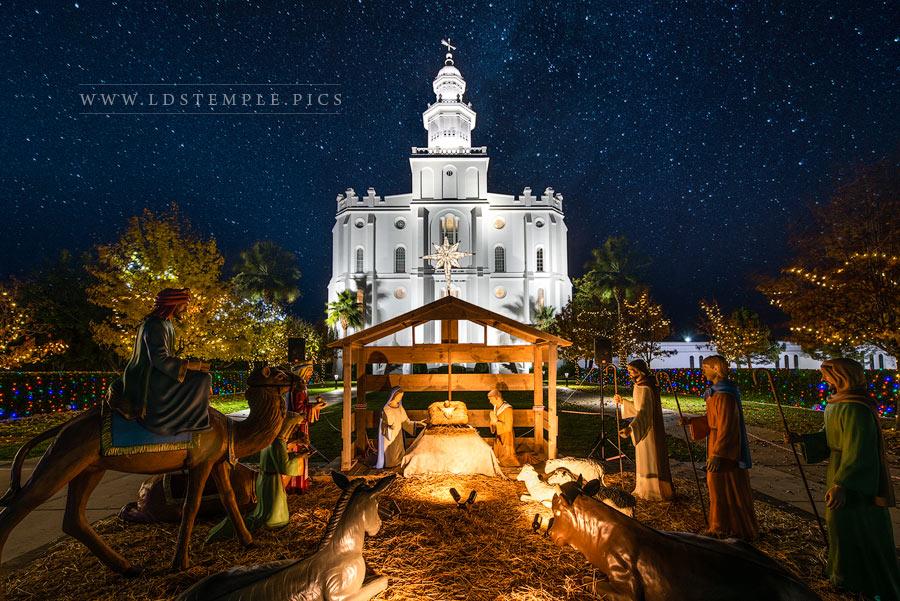 St. George Temple – Christmas Nativity